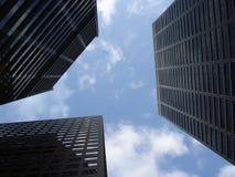 Céu da cidade fotografia de stock