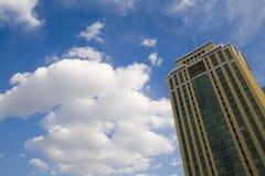 Céu da construção Imagens de Stock