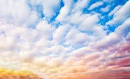 Céu da fantasia foto de stock