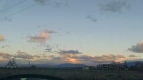 Céu da manhã Fotos de Stock Royalty Free