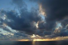 Céu da manhã Imagens de Stock Royalty Free