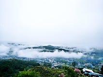 Céu da manhã Fotografia de Stock