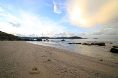 Céu da manhã no senador praia Phuket do Ao Imagem de Stock