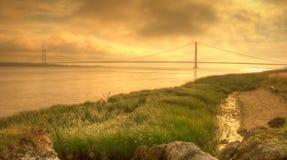 Céu da manhã, rio Humber, Fotografia de Stock