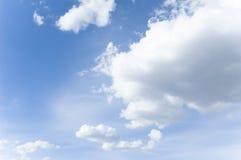 Céu da mola Imagens de Stock