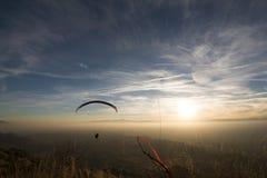 Céu da montanha Foto de Stock Royalty Free