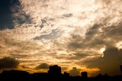 Céu da noite Foto de Stock