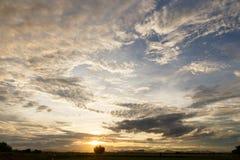 Céu da noite Imagem de Stock