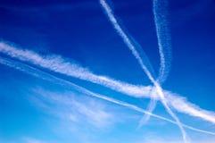 Céu da nuvem Fotografia de Stock