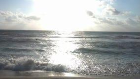 Céu da praia fotos de stock royalty free
