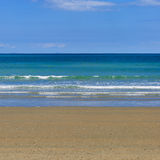 Céu da praia do mar Foto de Stock