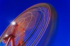 Céu da rotação de Sydney Ferry Wheel imagem de stock
