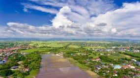 Céu da vista Fotos de Stock Royalty Free