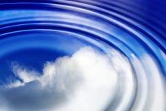 Céu de Abstact Imagem de Stock