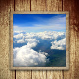 Céu de Bule Imagens de Stock