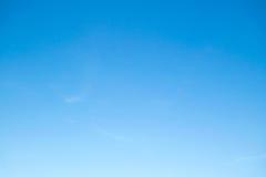 Céu de Couldless Fotos de Stock