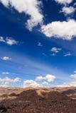 Céu de Cuzco Imagem de Stock Royalty Free