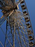 Céu de Ferris Wheel Detail With Blue Fotografia de Stock