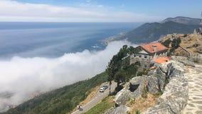Céu de Galiza Foto de Stock Royalty Free