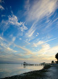 Céu de Islamorada Fotos de Stock Royalty Free