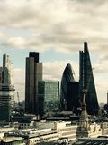 Céu de Londres Imagem de Stock
