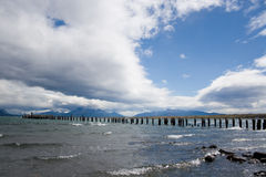 Céu de Puerto Natales Fotografia de Stock Royalty Free