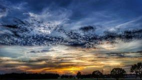 Céu de Texas Foto de Stock Royalty Free