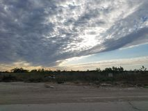 Céu de Texas Imagem de Stock Royalty Free