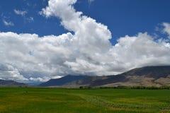 Céu de Tibet Fotos de Stock