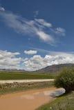 Céu de Tibet Imagens de Stock Royalty Free