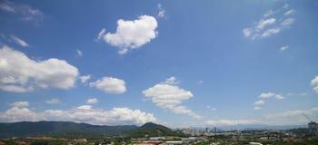 Céu dinâmico do dia Imagens de Stock