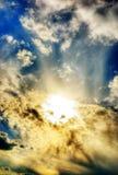 Céu divino foto de stock