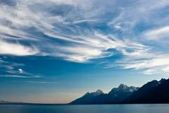 Céu do alvorecer Imagem de Stock