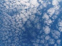 Céu 1 do Cirrocumulus Fotografia de Stock