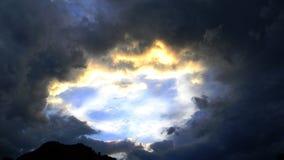 Céu do coração Fotografia de Stock Royalty Free
