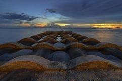 Céu do crepúsculo Foto de Stock Royalty Free