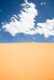 Céu do deserto foto de stock royalty free