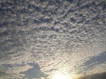Céu do deserto Fotografia de Stock