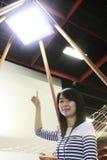 Céu do diodo emissor de luz Imagem de Stock