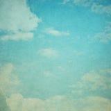 Céu do Grunge para o backgorund Fotografia de Stock Royalty Free