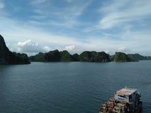 Céu do monte de Vietname Imagens de Stock Royalty Free