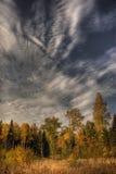 Céu do outono Fotografia de Stock Royalty Free