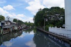 Céu do rio Fotografia de Stock Royalty Free