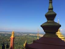 Céu do templo Imagens de Stock Royalty Free