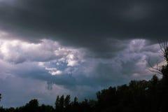 Céu do trovão Fotografia de Stock