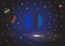 Céu do universo Foto de Stock