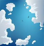 Céu do verão ilustração stock