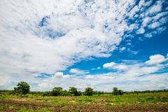 Céu 2 do verão Foto de Stock Royalty Free