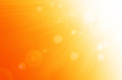 Céu do verão e fundo dos círculos Imagem de Stock