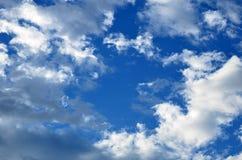 Céu e cloudscape bonitos Imagem de Stock Royalty Free